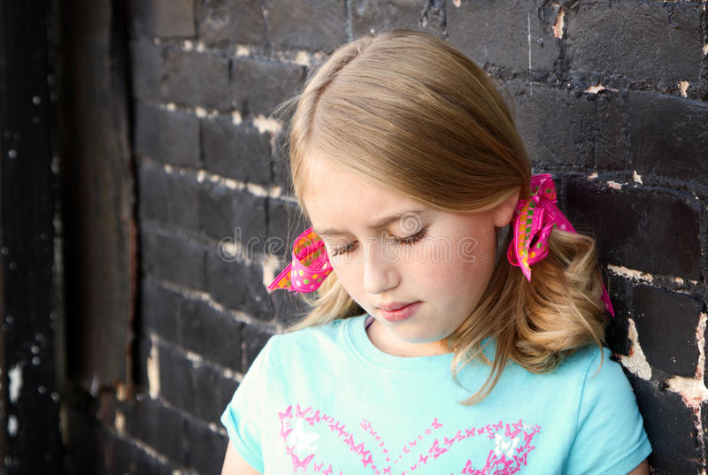 Download Close up of teen stock image. Image of blond, female - 27292393