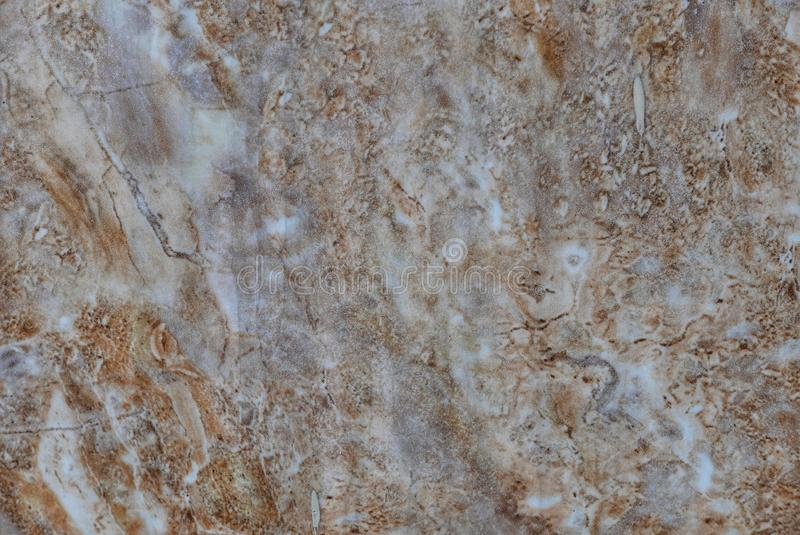 Close up texture of brown marble for background stock photography