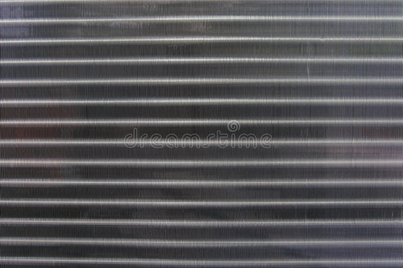 Close up texture pattern of air condition exhaust coil use for stock image