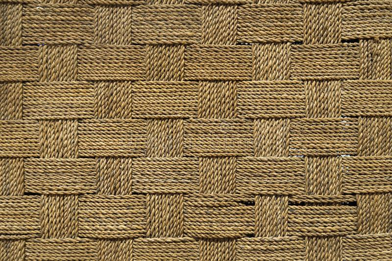 Close up texture of woven thread rough fabric.  royalty free stock images