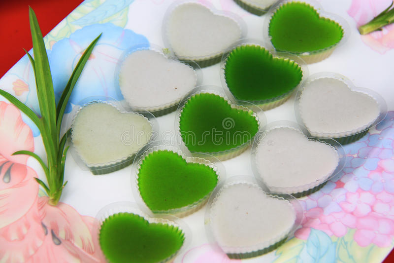 Close Up Thai Jelly Stock Image