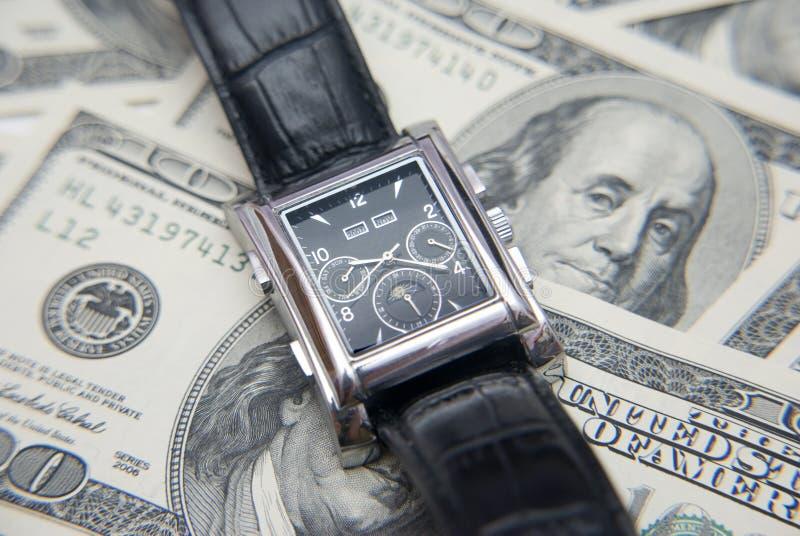 Close up. Time and Money. Close up, Time and Money stock photo