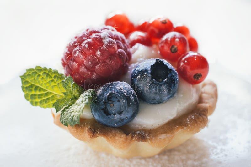 Close up to mini tart royalty free stock photography