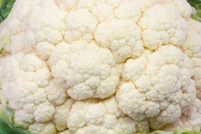 Close-up van bloemkool royalty-vrije stock afbeelding