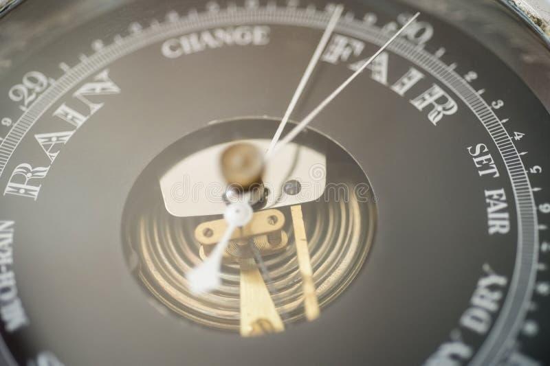 Close-up van bootbarometer stock foto's