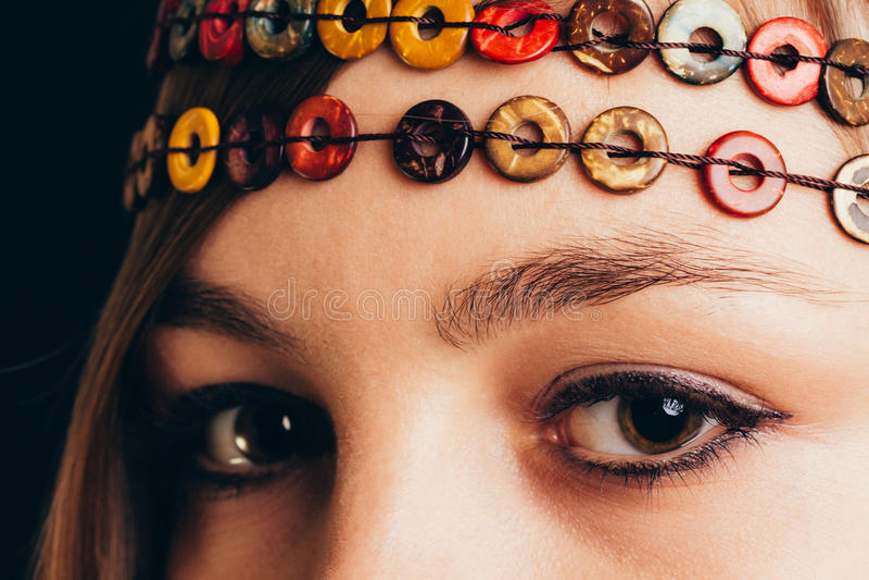 Download Close-up van bruine ogen stock afbeelding. Afbeelding bestaande uit details - 54079701