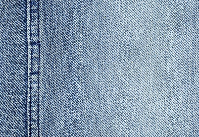 Close-up van de denimdoek royalty-vrije stock afbeelding
