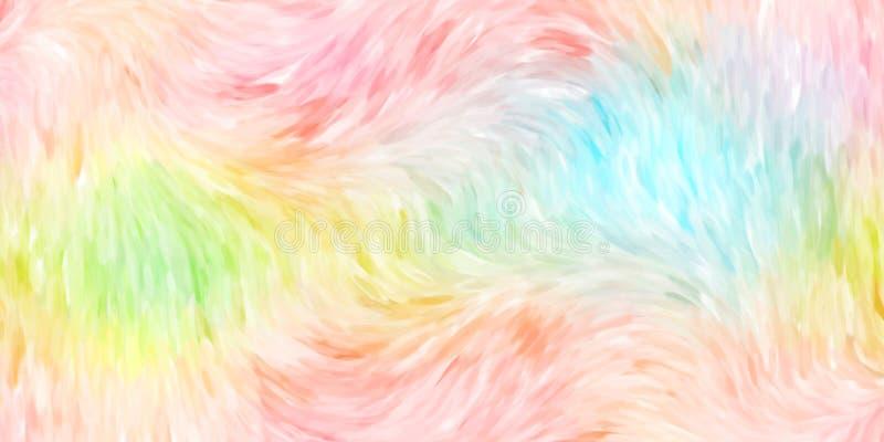 Close-up van de kleurrijke illustratie van de waterverf met de hand geschilderde kunst: abstracte kunstachtergrond royalty-vrije illustratie