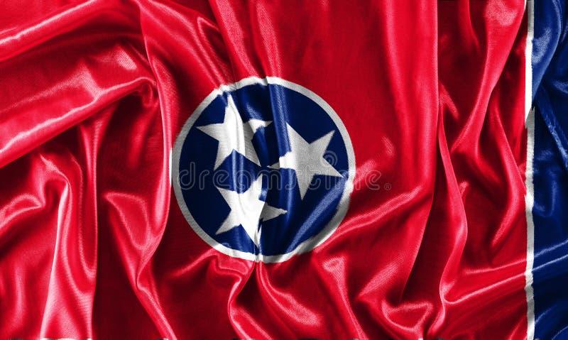 Close-up van de staat van Tennessee - de V.S. stock foto's