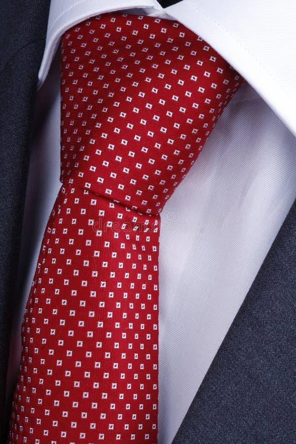 Close-up van een bandknoop stock afbeelding