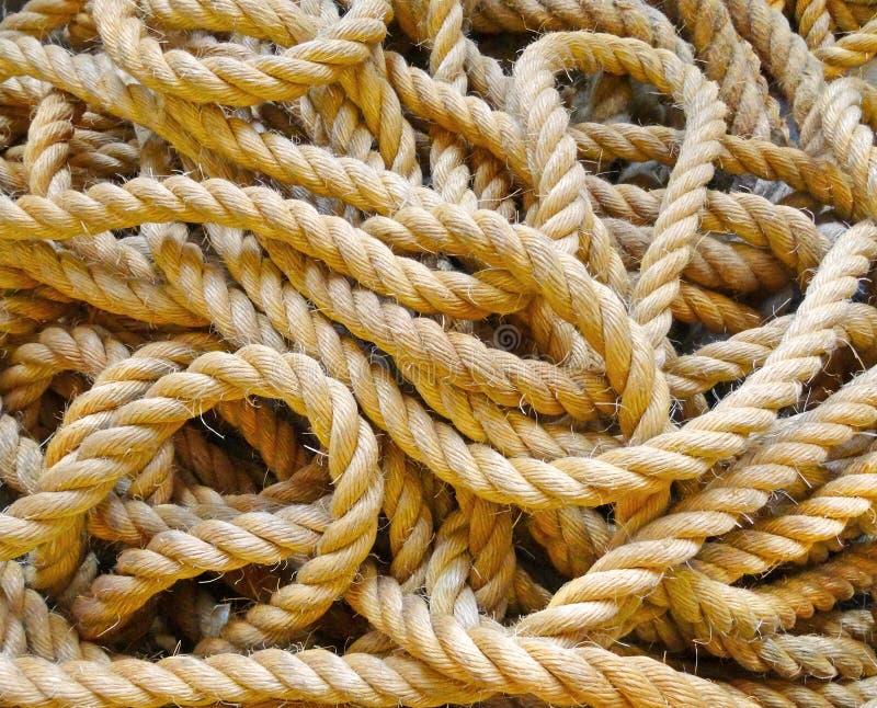 Close-up van een kabel royalty-vrije stock foto's