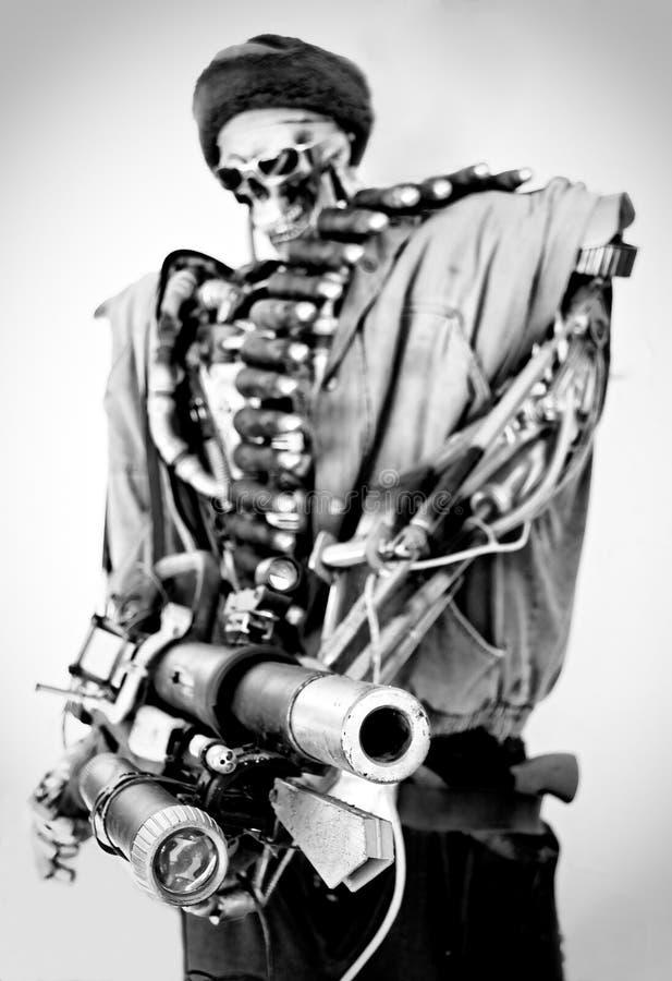 Close-up van een robot royalty-vrije stock foto