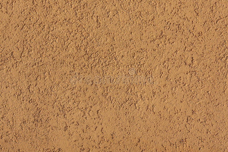 Close-up van gele concrete muur stock fotografie