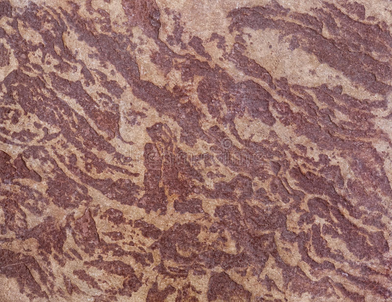 Close-up van gestempeld beton stock fotografie