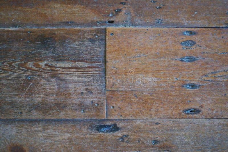 Close-up van geweven houten vloer stock fotografie