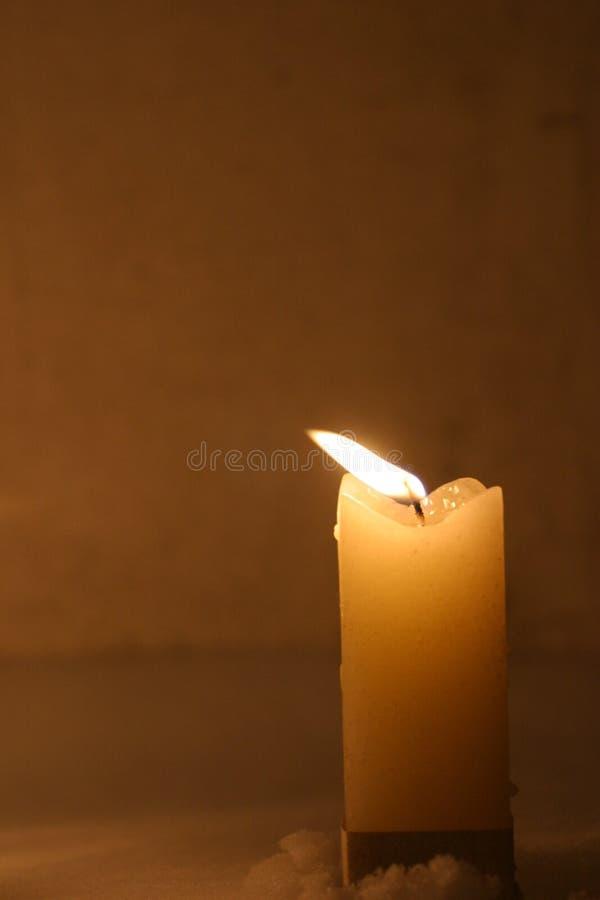 Close-up van het branden van kaarsen royalty-vrije stock foto's