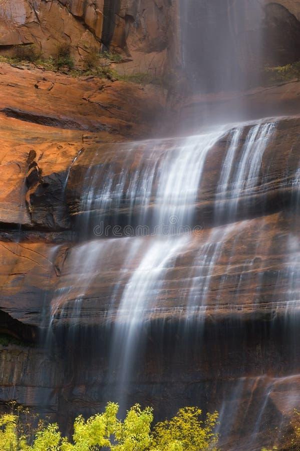Close-up van het Huilen van de Waterval van de Rots royalty-vrije stock fotografie