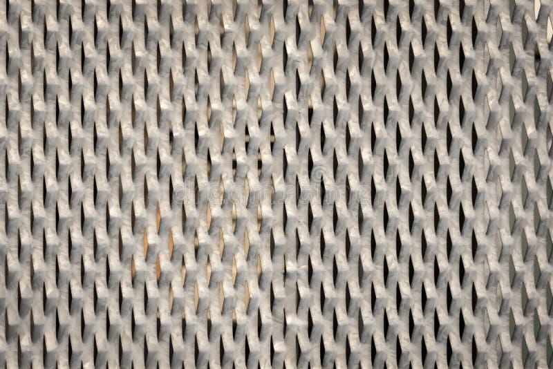Close-up van het textuur het Achtergrond Gegalvaniseerde Staal stock afbeeldingen