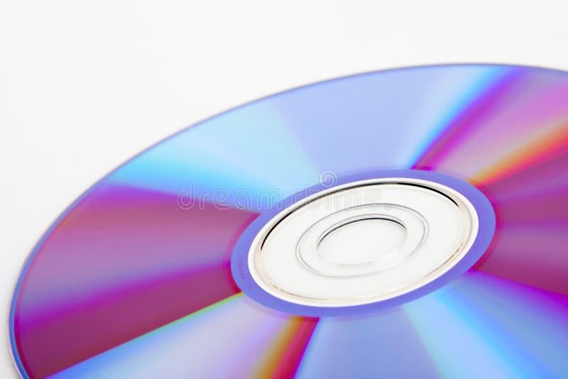 Close-up van kleurrijke CD royalty-vrije stock fotografie