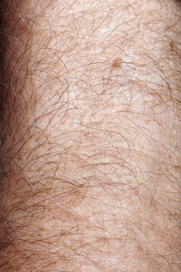 Close-up van menselijke huid royalty-vrije stock foto's