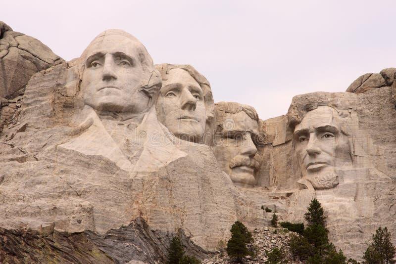 Close-up van Onderstel Rushmore, Zwarte Heuvels, Utah stock foto's