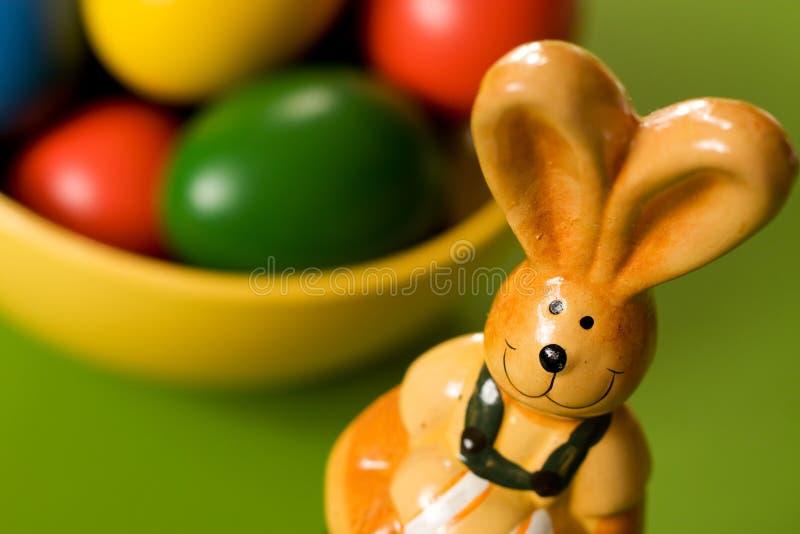 Close-up van Pasen-Konijntje stock foto