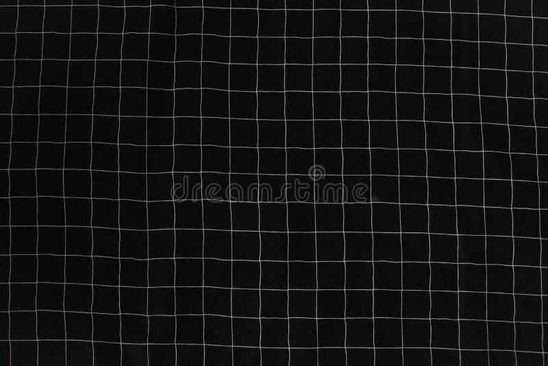 Close-up van stoffentextuur Geruite textuur voor de drukken van de kledingsstof, huistextiel stock foto's