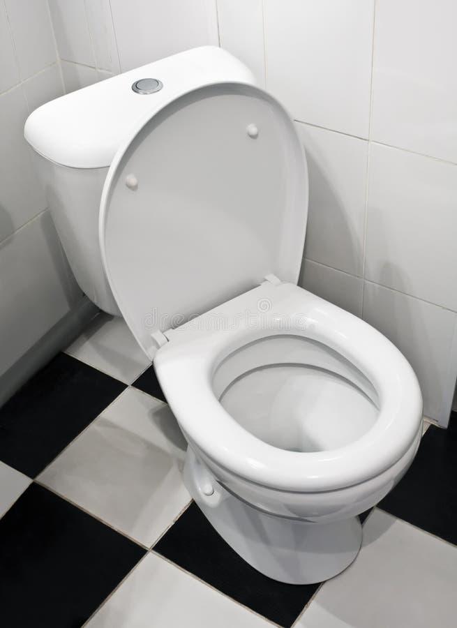 Close-up van toilet royalty-vrije stock afbeeldingen