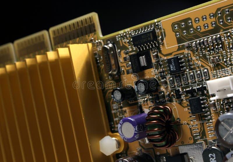Close-up van videocard II royalty-vrije stock fotografie