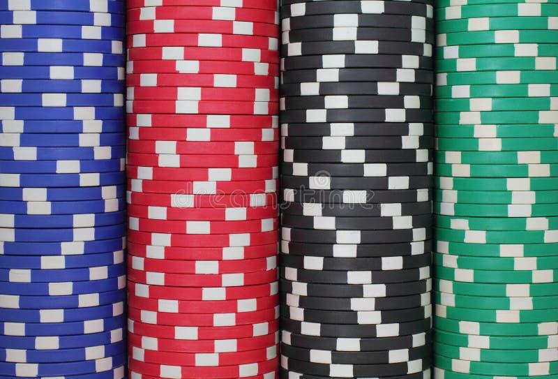 Het casino breekt Achtergrond af stock fotografie