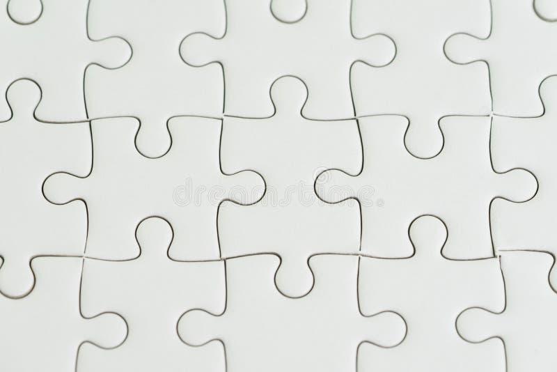Close-up van Witboekpuzzel wordt geschoten die als achtergrond o gebruiken dat stock afbeeldingen