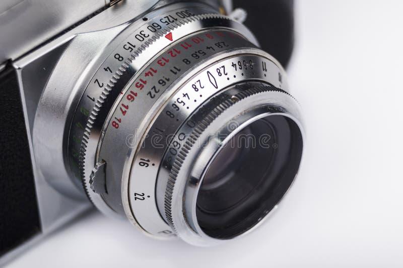 Close up velho da câmera fotografia de stock royalty free