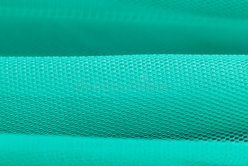 Close-up verde do tule fotografia de stock royalty free