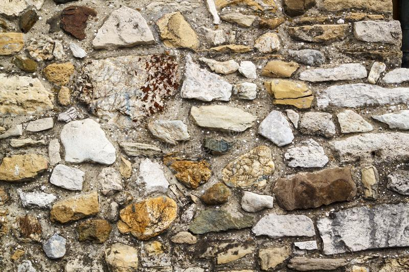 close up view of medieval masonry texture royalty free stock images