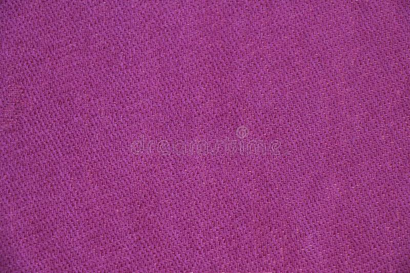 Close up view of pink nepalese pashmina fabric. royalty free stock photo