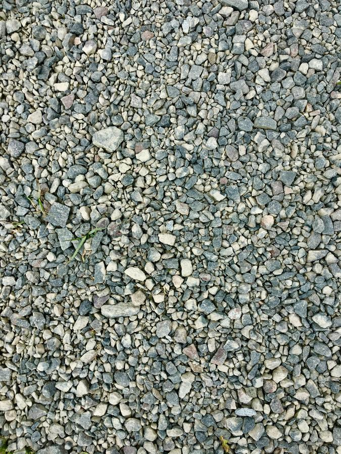 Close up view of small stones background royalty free stock photography