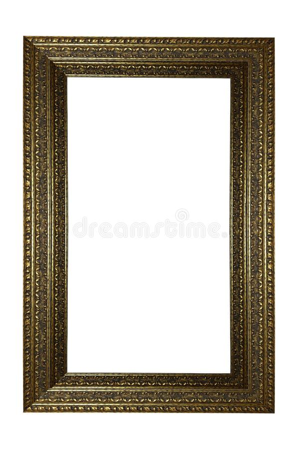 Picture frame with space use for picture or texts display royalty free stock photos