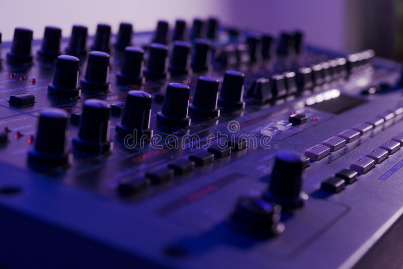 Download Close up of Vintage Synth stock illustration. Image of macro - 31479580
