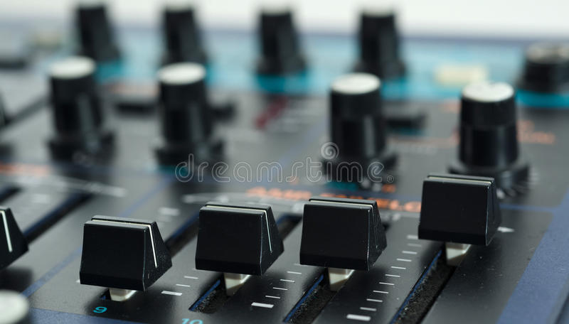 Download Close up of Vintage Synth stock illustration. Image of analog - 31479596