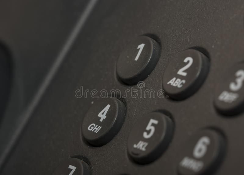 VoIP Phone, phone keys royalty free stock images