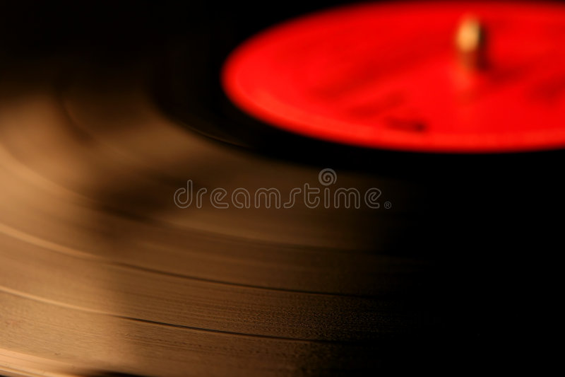 Close-up of a vynil