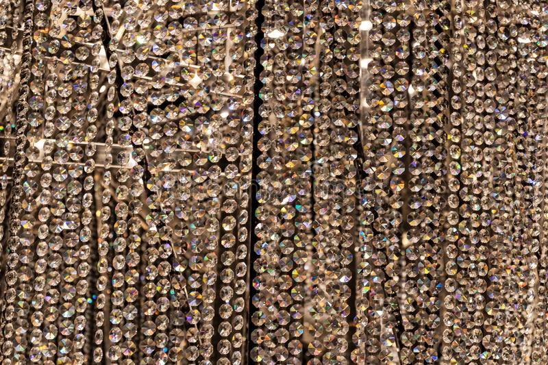 Close up of wall of diamonds. Full frame. Detail royalty free stock image