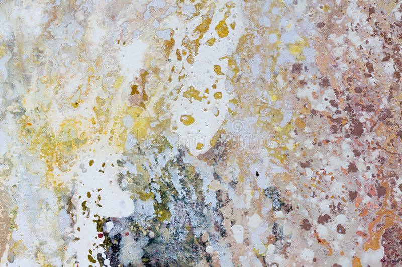 Close up water color painting on watercolor paper texture using stock illustration