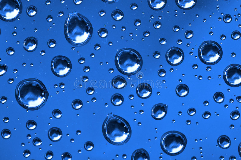 Close up of water drops royalty free stock images