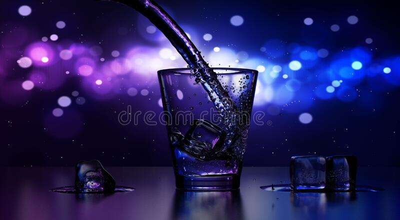 Close-up of Water Splashing royalty free stock photo