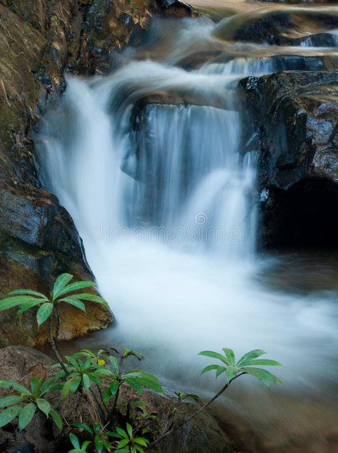 Free Close Up Waterfall Royalty Free Stock Photos - 17894438