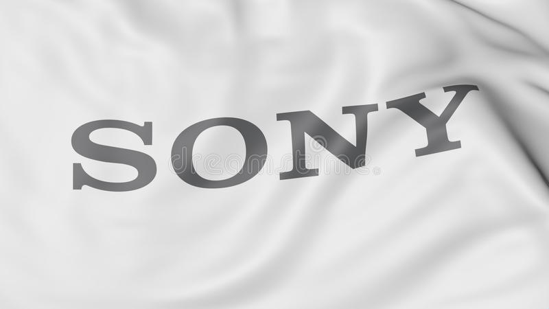 Sony Logo editorial stock image  Illustration of illustrator