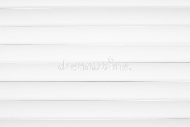 Close-up of white aluminum blinds vector illustration