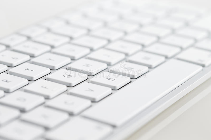 Download A Close-up Of A White Computer Keyboard Stock Illustration - Illustration of notebook, keys: 33528955