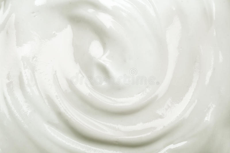 close up the white creamy homemade yogurt texture background royalty free stock images
